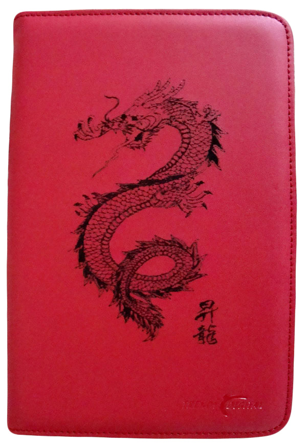 Artisan MaxGuard Plus Kindle 2 Cover, Red, Dragon Rising