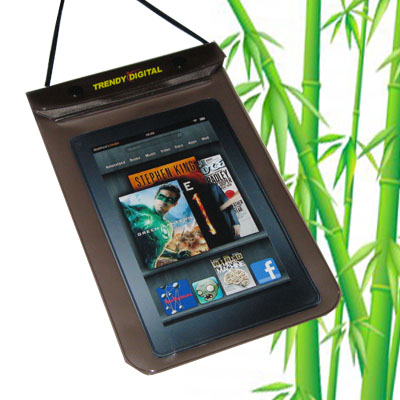 WaterGuard Waterproof Case for Kindle Fire, Black