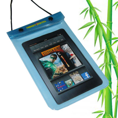 WaterGuard Waterproof Case for Kindle Fire, Blue