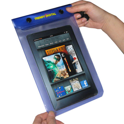 WaterGuard Waterproof Case for Kindle Fire, Purple