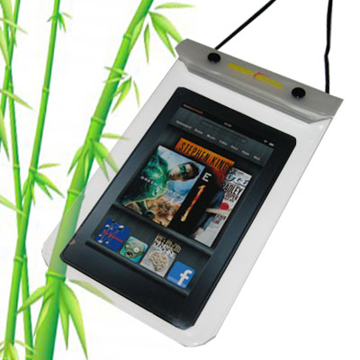 WaterGuard Waterproof Case for Kindle Fire, White