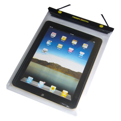 WaterGuard Waterproof Case for iPad, White Border