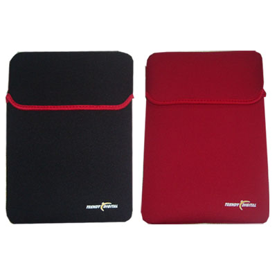 Neoprene Sleeve for up to 10.2-Inch Netbook or Kindle DX (Black)