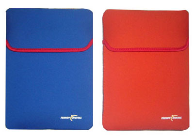 Neoprene Sleeve for up to 10.2-Inch Netbook or Kindle DX (Blue)