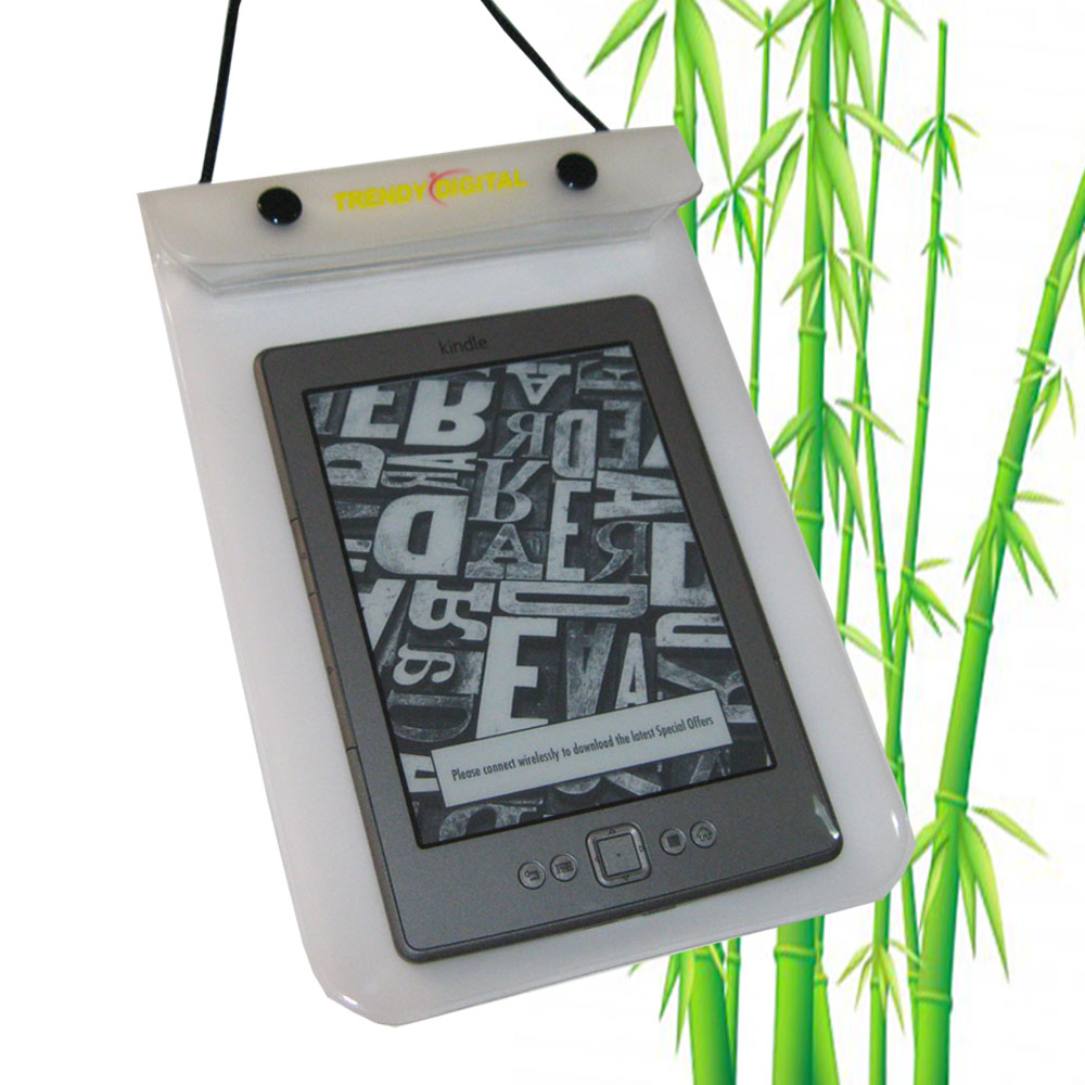 WaterGuard Waterproof Case for Kindle 4 ( 4thGeneration), White