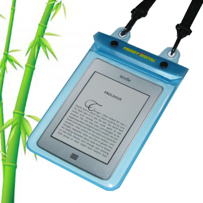 WaterGuard Plus Waterproof Case for Kindle Touch w/Padding, Blue