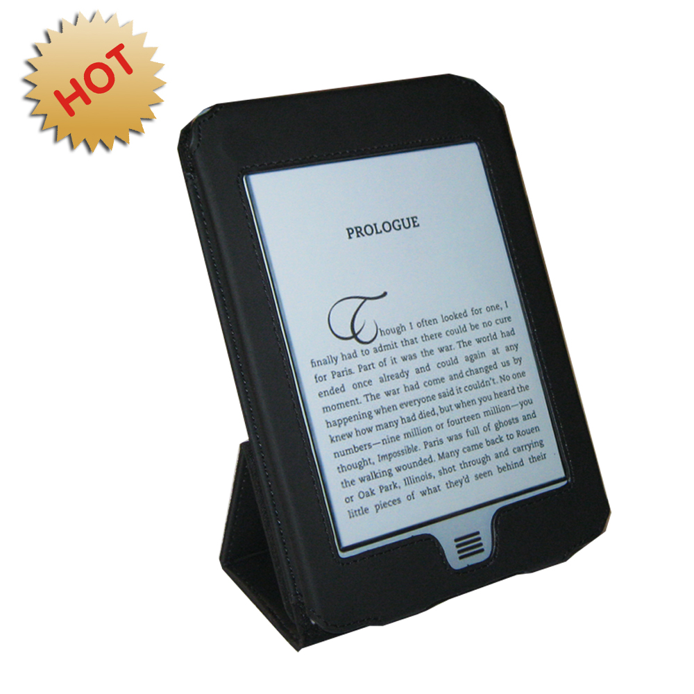 EasyRead Platform Jacket for Kindle Touch, Black Color