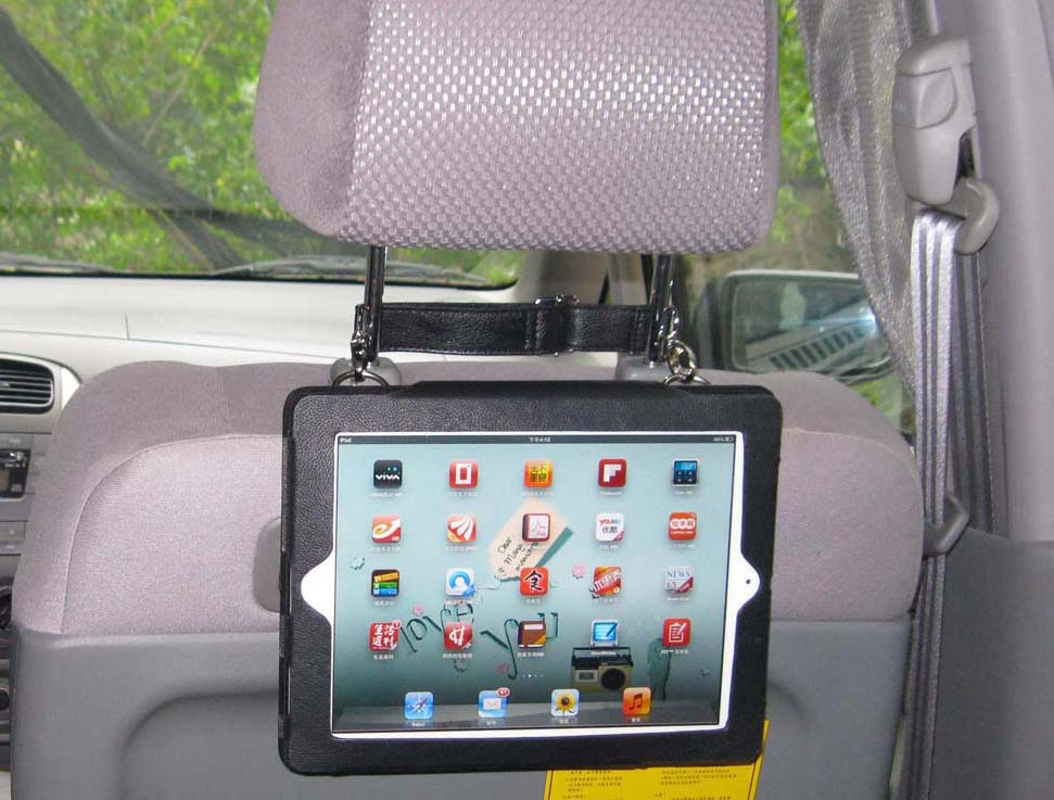 TrendyDigital Multifunctional Case, Car Headrest Case for iPad
